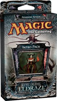MtG Rise of the Eldrazi Invading Spawn Intro Pack by