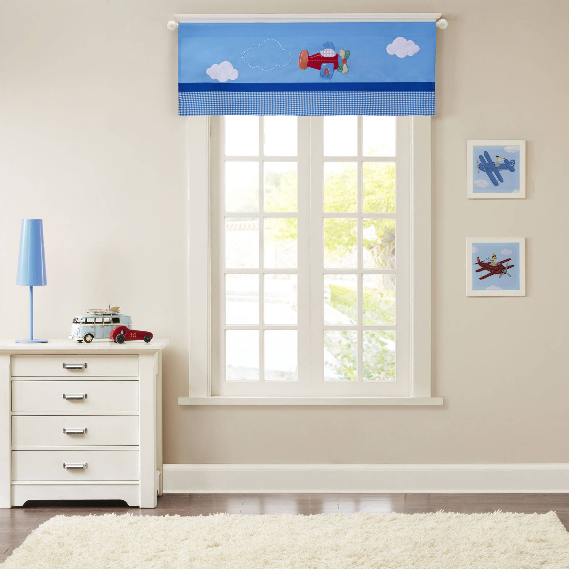 Home Essence Kids Moving Along Printed and Applique Valance