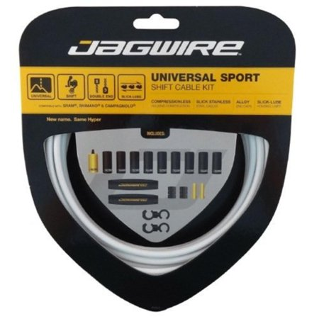 Universal Sport Shift Kit, White, Used by professionals By Jagwire