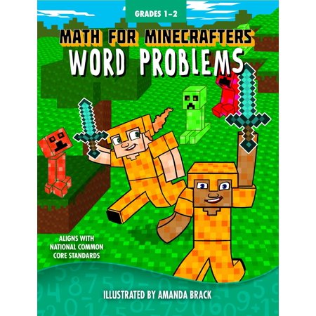 Halloween Math Problems For 2nd Grade (Math for Minecrafters Word Problems: Grades)