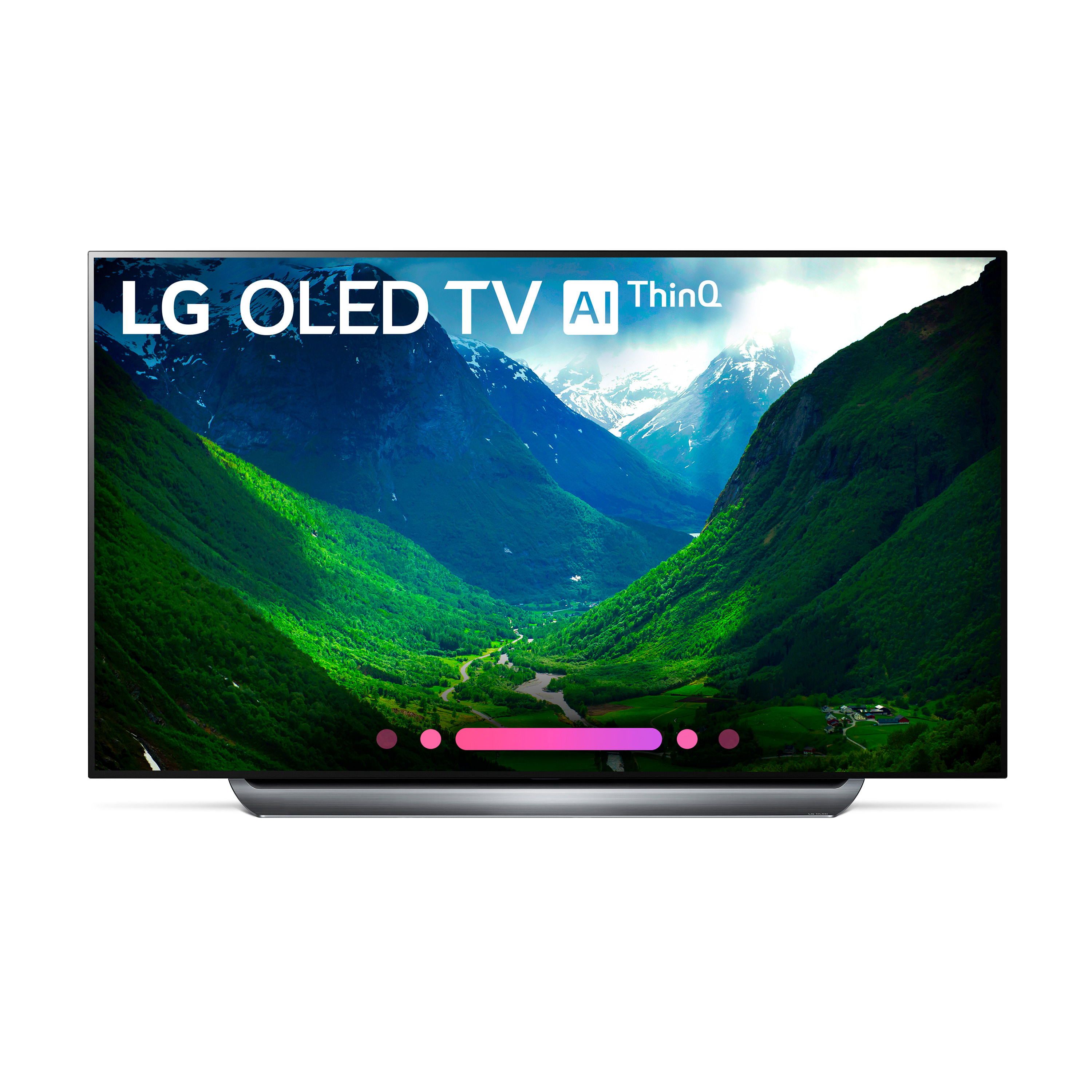 "LG 77"" OLED 4K HDR Smart OLED TV w/AI ThinQ - OLED77C8PUA"