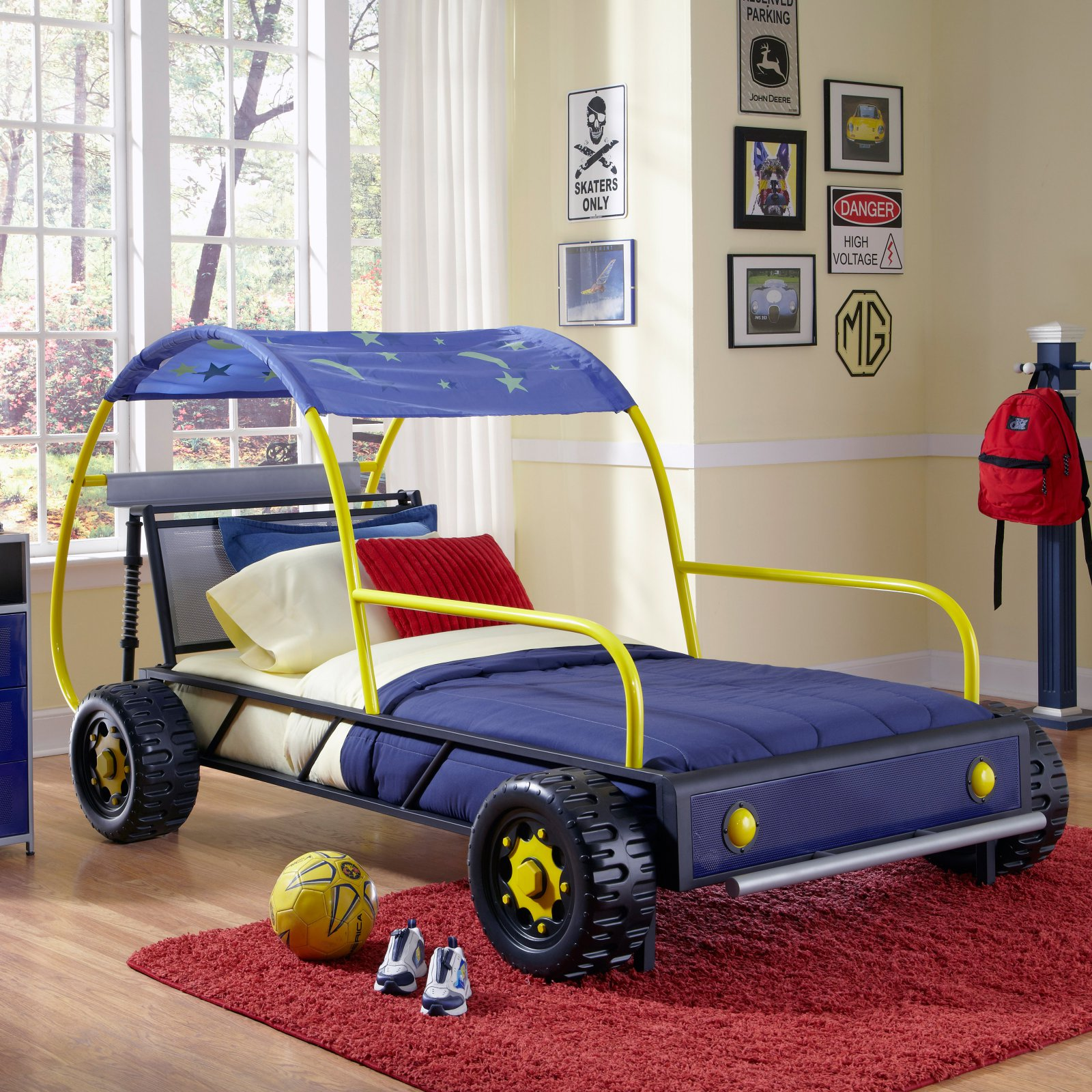 Powell Dune Buggy Twin Bed