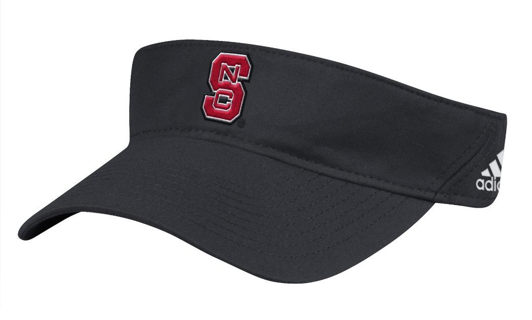 "North Carolina State Wolfpack Adidas NCAA ""Coaches"" Performance Adjustable Visor by Adidas"