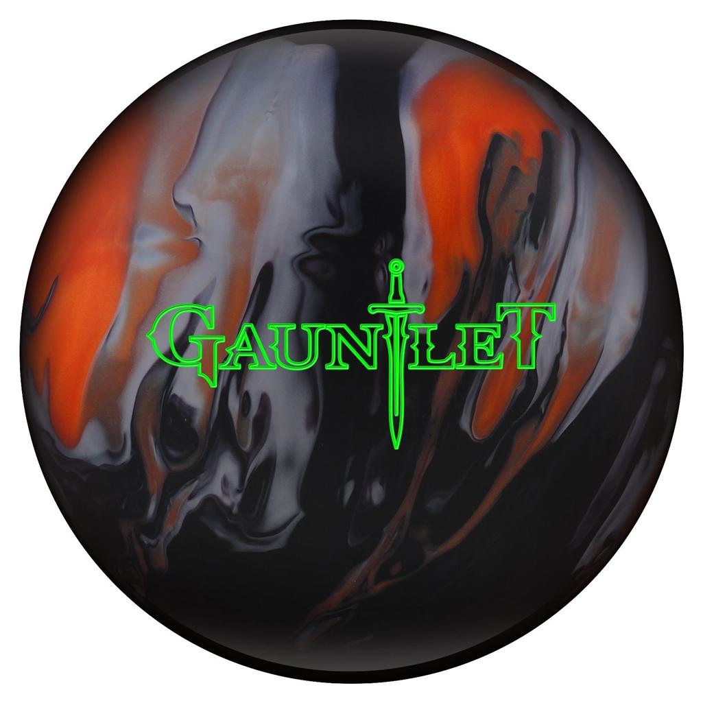 Hammer Gauntlet Bowling Ball- Orange/Black/Silver- 14 lbs