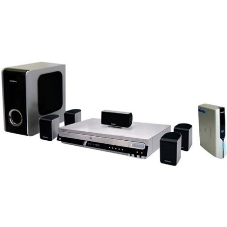 Samsung HT-WP38 DVD Home Theater System with USB Plug-and-play and Wireless Rear Channel