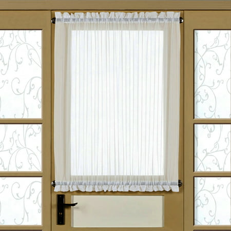 Reverie Semi-Sheer Tailored Door Panel With Tieback 60