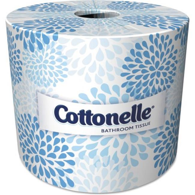 Kimberly-Clark 17713 CPC 2 ply Kleenex Cottonelle Bathroom Tissue, Case of 60