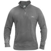 Quarter Zip Pullover - 2XL - Gray