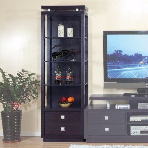 Latitude Run Spacious Tower Multimedia Cabinet