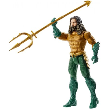 Aquaman Movie Aquaman Action Figure, 6-Inch Scale With Actor Likeness
