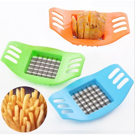 Outgeek Kitchen Gadgets Creative Potato Slicer Potato Cutter French Fries Maker Slicer for Home Cooking