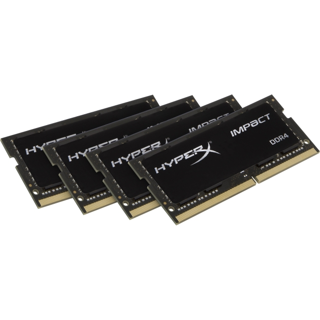 32Gb 2400Mhz Ddr4 Kit Of 4 Hyperx Impact