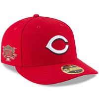 Cincinnati Reds New Era 150th Anniversary Authentic Collection On-Field Low Profile 59FIFTY Fitted Hat - Red