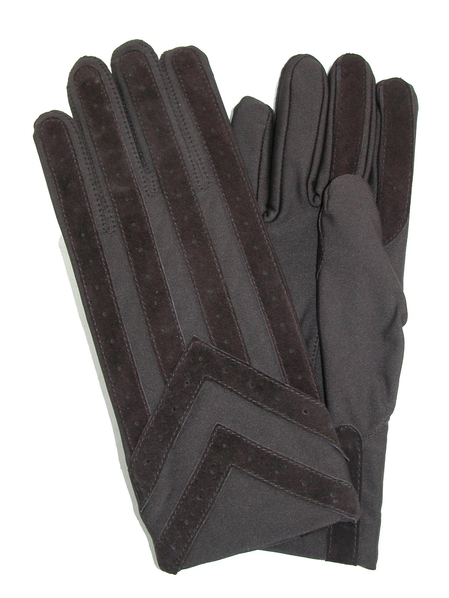 Isotoner Women/'s Gloves Size M L Black Smartouch Plush Retail $42