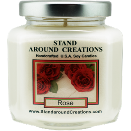 ROSE HEX 6-OZ. ALL NATURAL SOY CANDLE