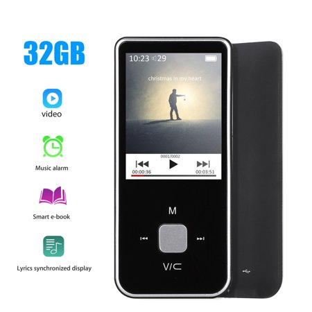 MP3 MP4 Player with FM Radio/Voice Recorder,EEEkit HiFi LCD Lossless Sound Music Player, Expandable Up to 32GB,BLACK](Halloween Sound Effects-special Mp3)