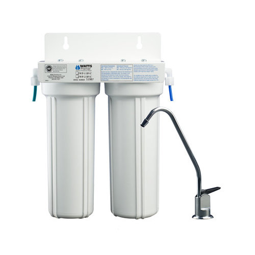 Bundle-26 Watts Premier Two Stage LCV Under Counter Water Filter (Set of 2)