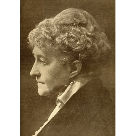 Feminist Photo - Sarah Grand Frances Bellenden Clarke 1854-1943 English Feminist New Woman And AutobiographerFrom The Book The Masterpiece Library Of Short Stories English Volume 9 PosterPrint