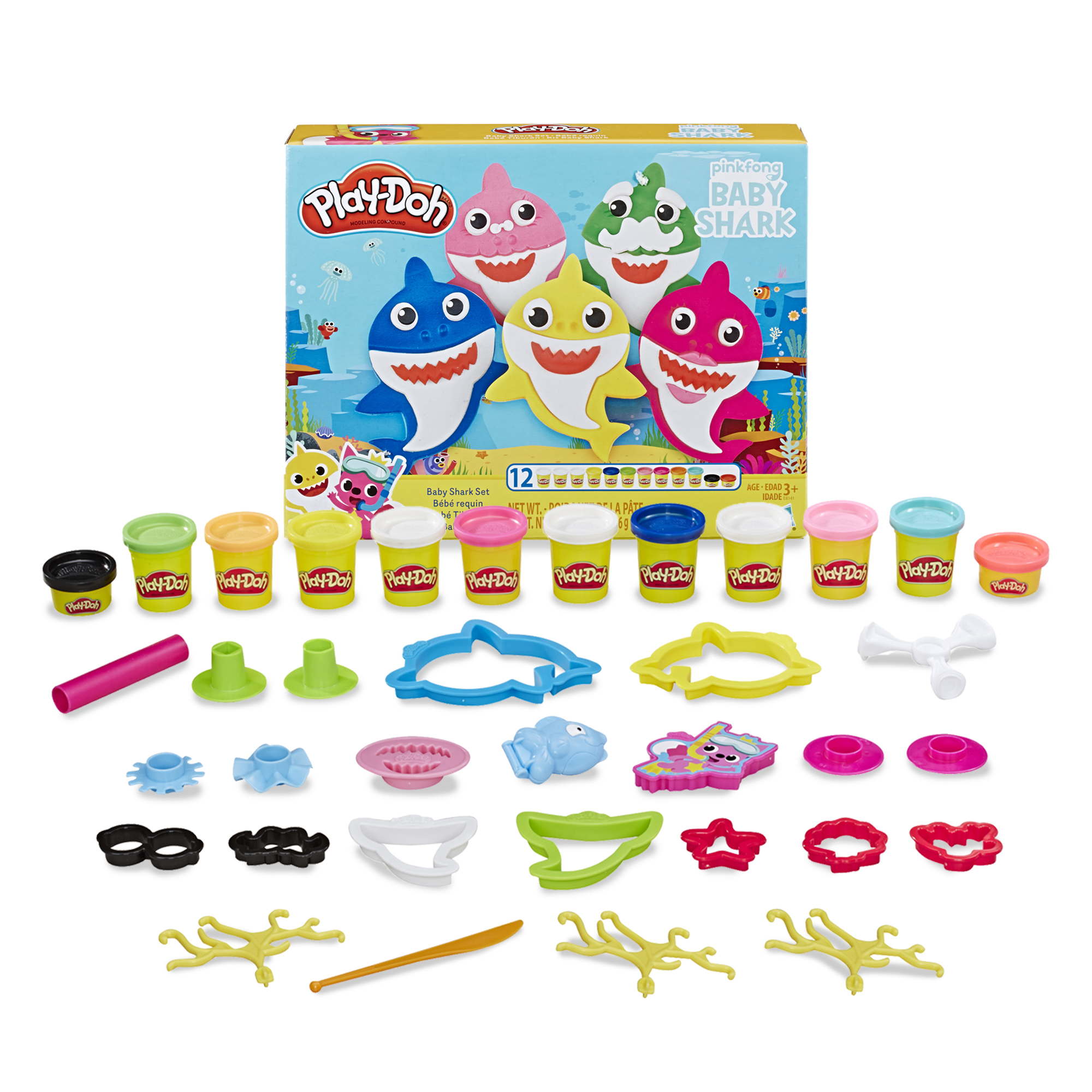 Play-Doh Pinkfong Baby Shark S...