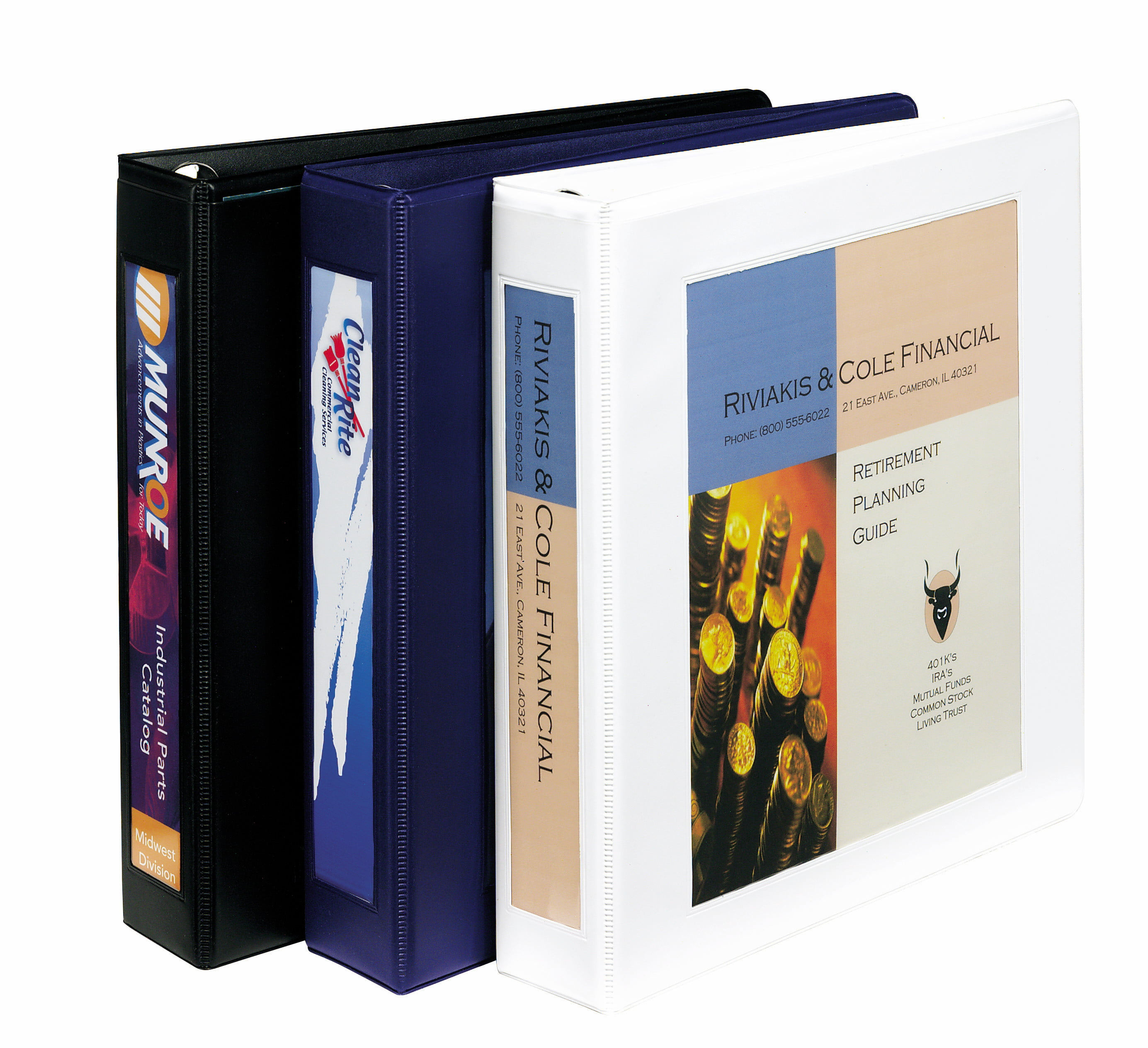 """Avery Framed View Binder, 1-1/2"""" One-Touch EZD Rings, 400"""