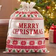 Oversized Lighted Christmas Gift Sacks-Merry Christmas