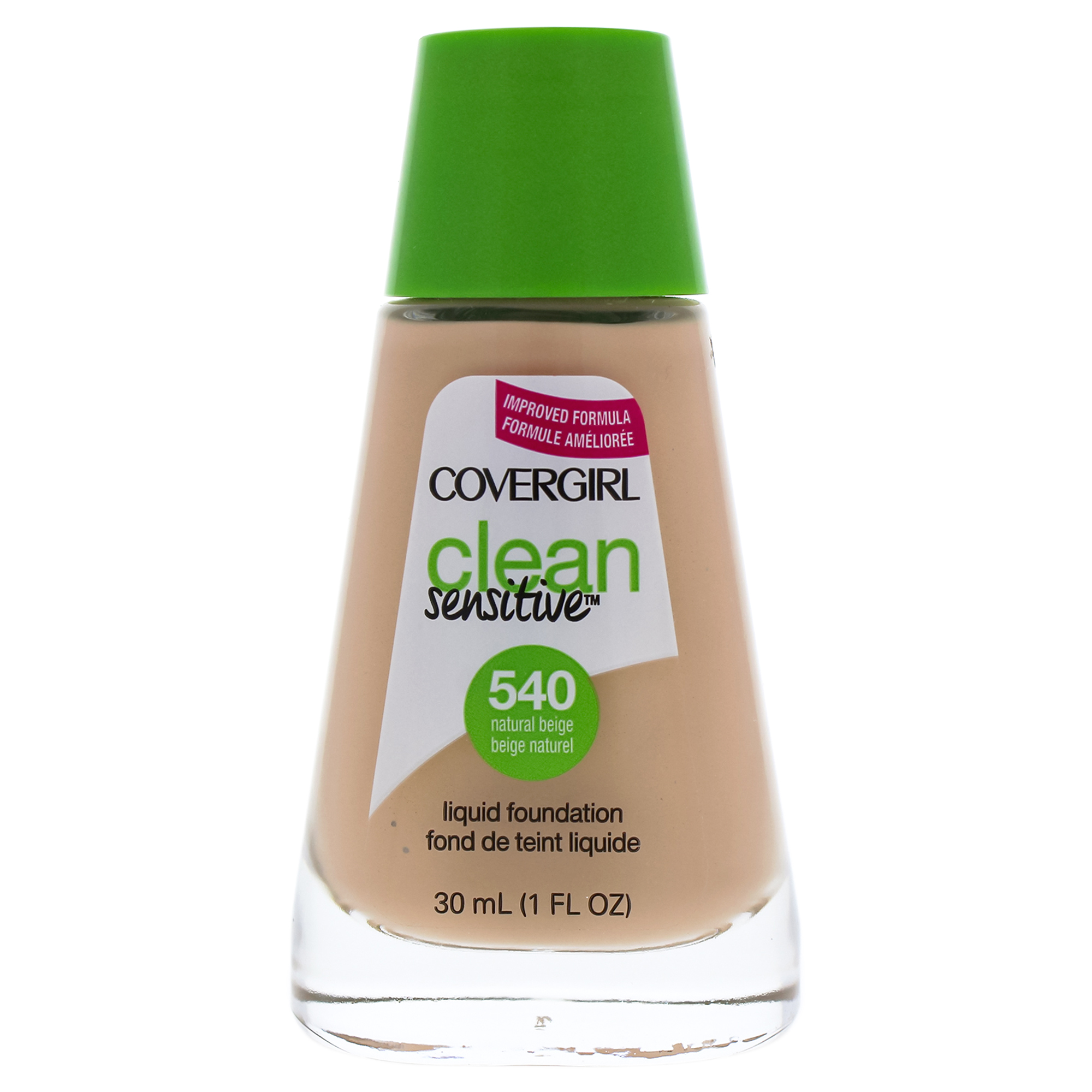 Clean Sensitive Liquid Foundation - # 540 Natural Beige by CoverGirl for Women - 1 oz Foundation