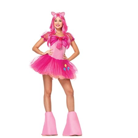 Pinkie Pie My Little Pony Adult Womens Halloween Costume - Pinkie Pie Equestria Girl Costume