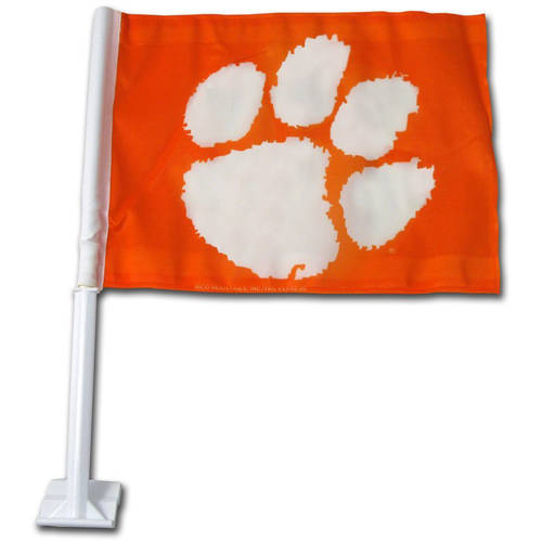 NCAA Clemson Car Flag - Generic Brand