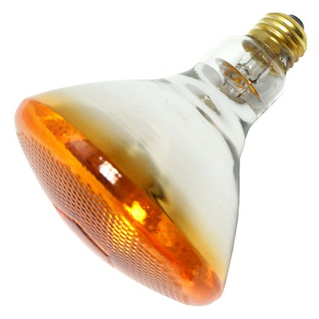 Halco 404112 br38amb100 colored flood light bulb for Colored light bulbs