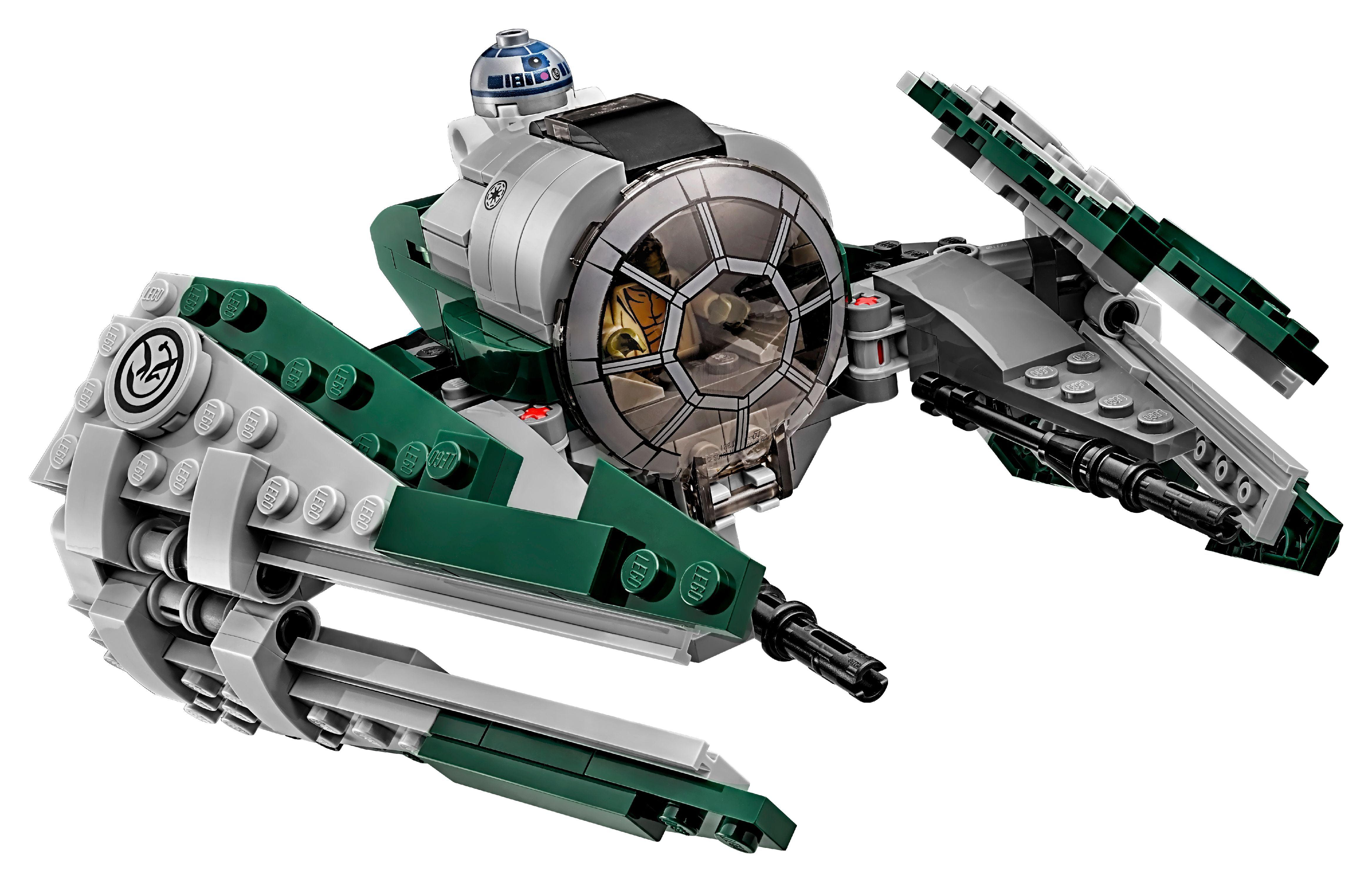LEGO Star Wars Yoda/'s Jedi Set Starfighter Original Box Children Toys