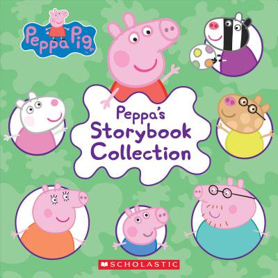 Peppa's Storybook Collection (Hardcover) - Storybook Characters For Kids