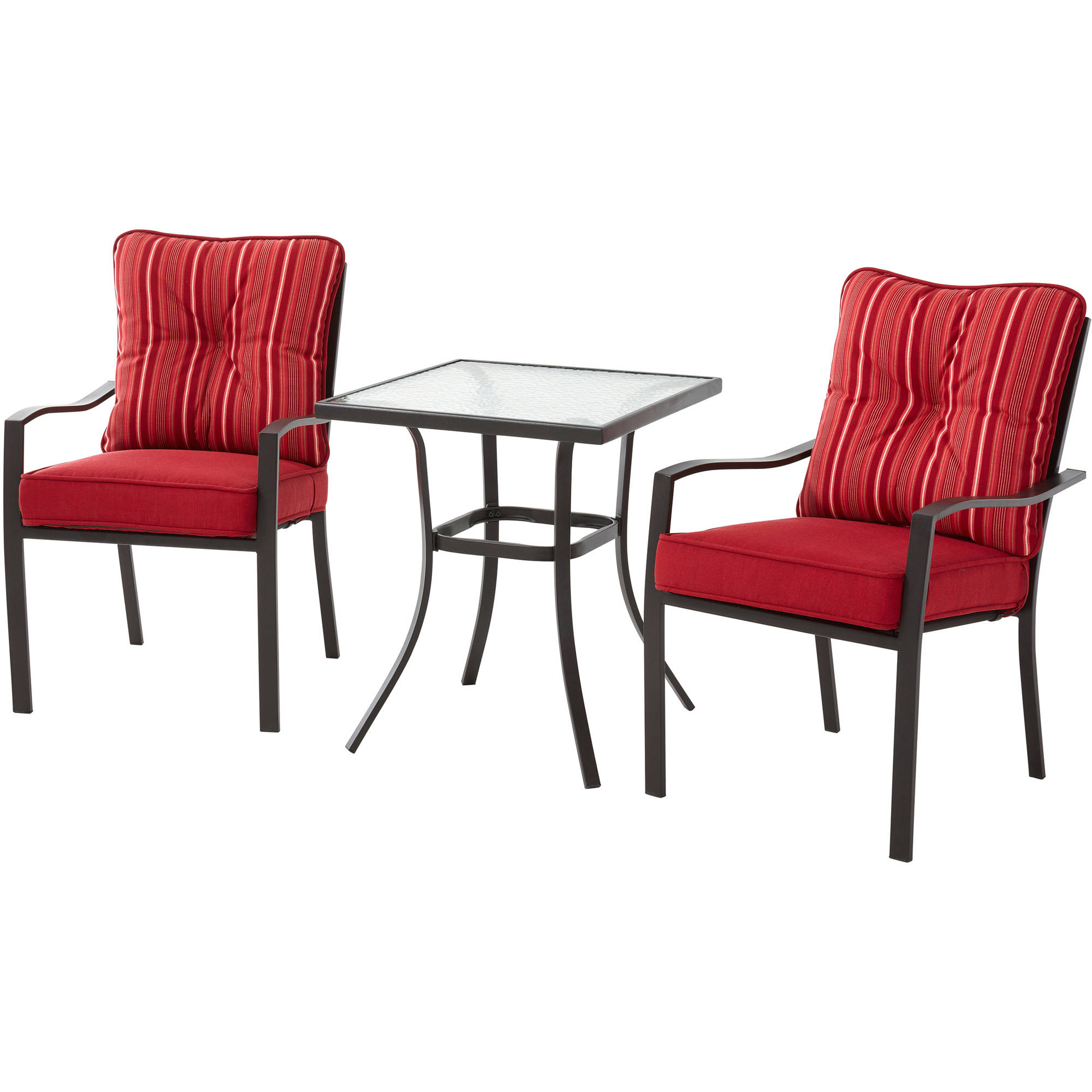 Mainstays Forest Hills 3 Piece Bistro Set Walmart