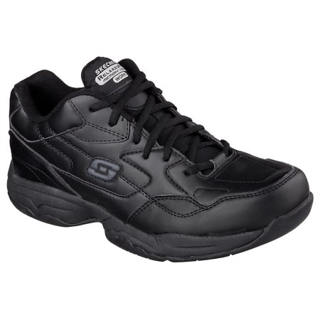 Skechers Work Men's Work Felton Slip Resistant Work Shoes (Skechers Oxford Mens Shoes)