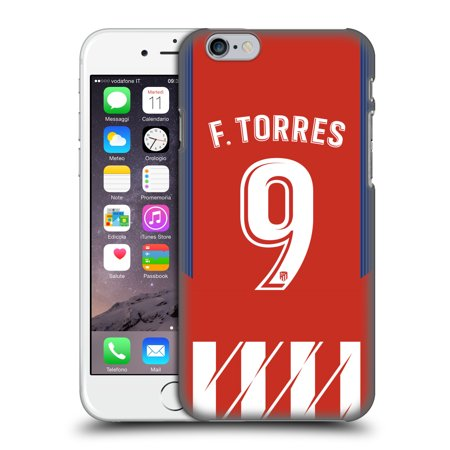 OFFICIAL ATLETICO MADRID 2017/18 HOME KIT 1 HARD BACK CASE FOR APPLE IPHONE PHONES - Madrid Home Kit