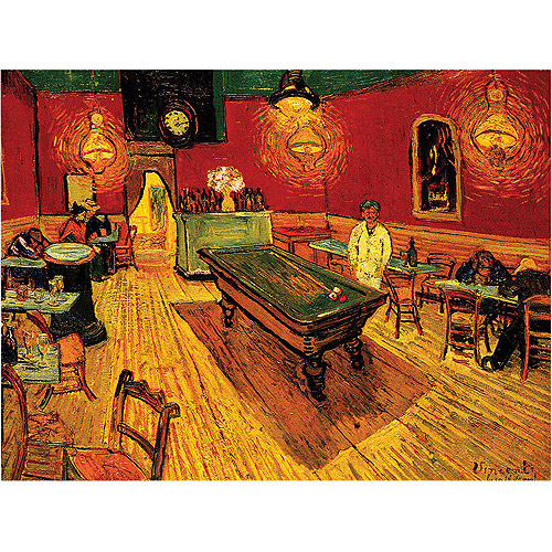 "Trademark Art ""The Night Cafe"" by Vincent Van Gogh, 14x19"