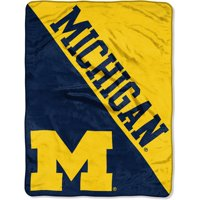 NCAA Michigan Wolverines ?Halftone? 46?x 60? Micro Raschel Throw