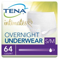 Tena Incontinence Underwear, Overnight, Medium, 64 Ct