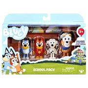 "Bluey & Friends School Pack Figure set 2"" with Chloe"