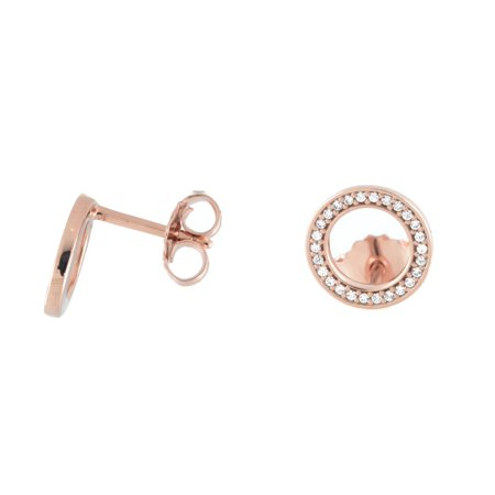 6b2b26034d920a PANDORA - Authentic Forever Stud Earrings, Rose & Clear CZ 280585CZ -  Walmart.com