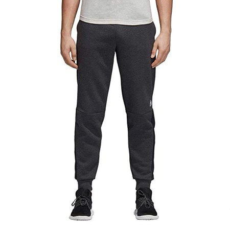 Adidas Black Cross Trainer - Adidas Men's Athletic Sport Id Fleece Pants Training Fashion, Charcoal X-Large