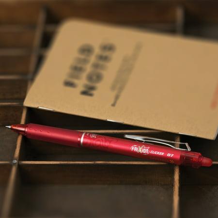 Pilot FriXion Clicker Erasable Gel Ink Pens, Fine Point (0.7mm), Assorted Ink, 7 Count 22477879
