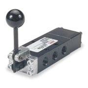 ARO E312LS Manual Air Control Valve, 4-Way, 1/4in NPT