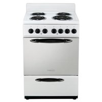 "Premium 24"" 4 burner portable electric stove in White"