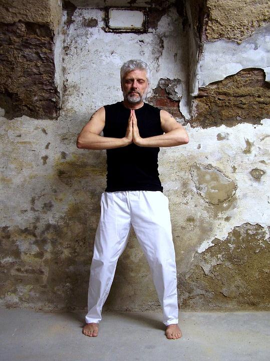 Yoga Gassho Meditation Prayer Pray Meditation-12 Inch BY ...