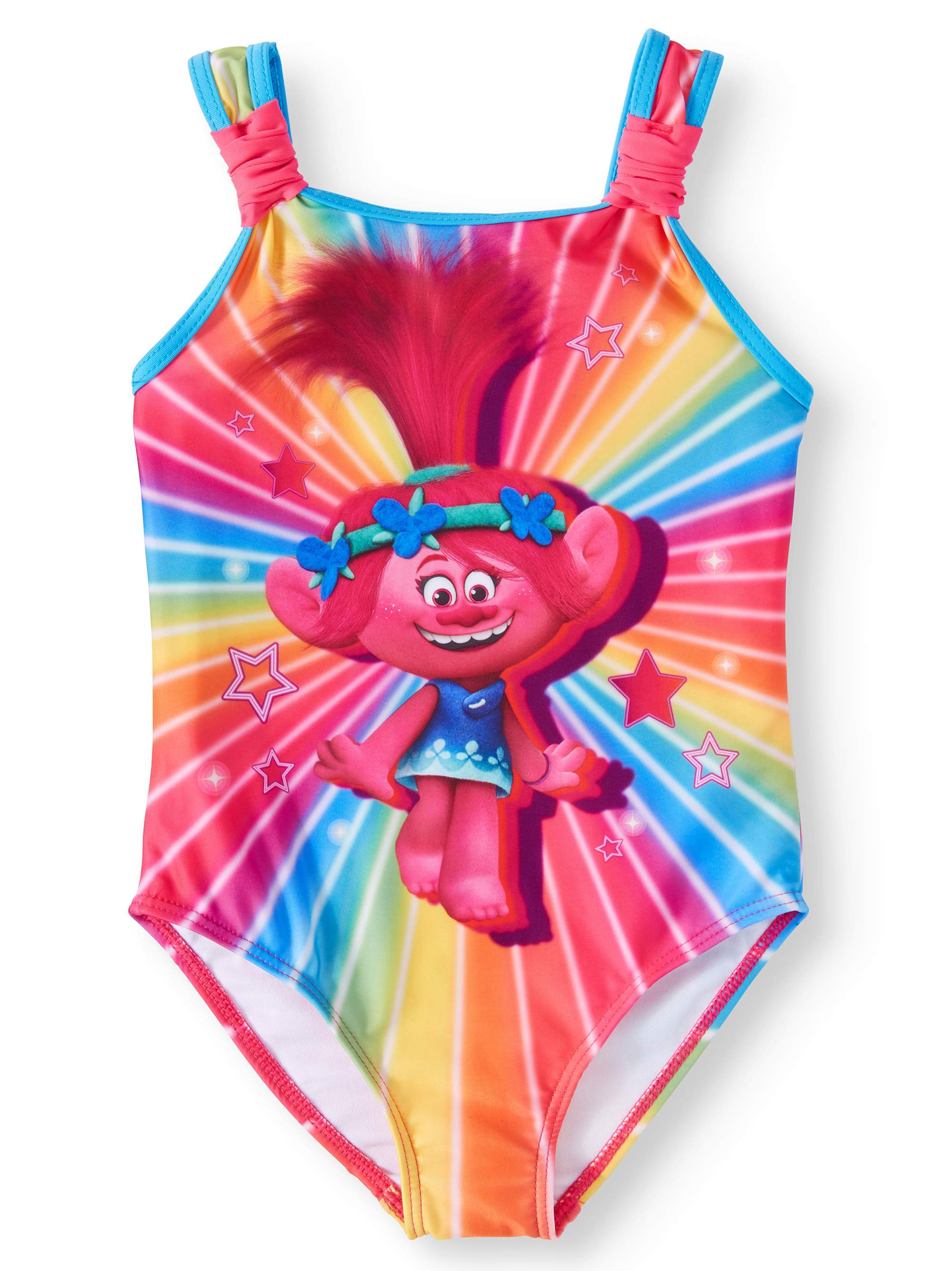 Poppy Rainbow One-Piece Swimsuit (Little Girls)