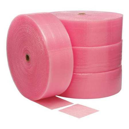 Anti-Static Bubble Roll,3/16 in.,PK4 39UL09