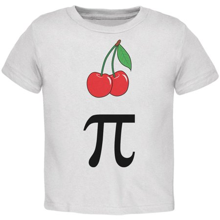 Halloween Math Pi Costume Cherry Day Toddler T Shirt