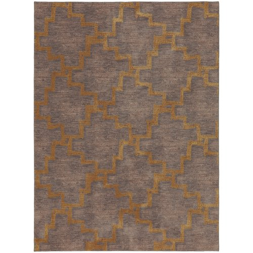Karastan Cosmopolitan Marais Gold Cream Area Rug by Mohwak Home