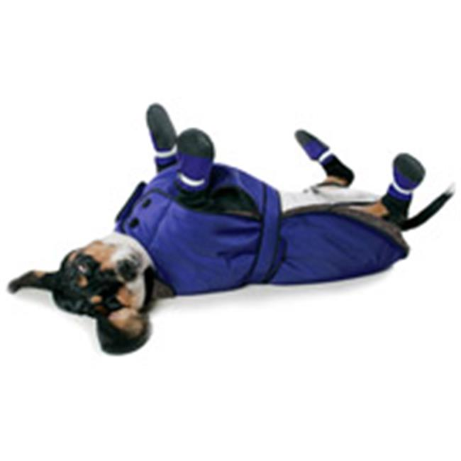Muttluks BL24BU 3-Layer Belted Winter Dog Coat - Size 24,...