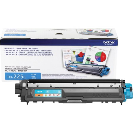 Brother TN225C High-Yield Toner, (Brother Lc31 Cyan Ink)